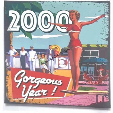 Magnet vintage 2000