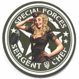 Magnet vintage special forces