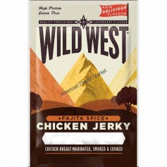 Wild West beef jerky fajita spice 25g