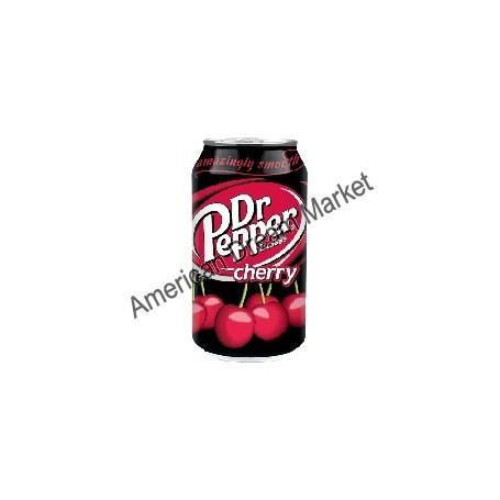Dr Pepper Cherry Soda a la cerise