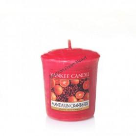 Votive mandarin cranberry