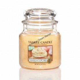 Moyenne jarre vanilla cupcake