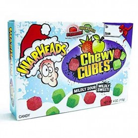 Warheads christmas chewy cubes