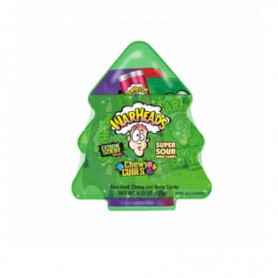 Warheads christmas tree chewy cubes