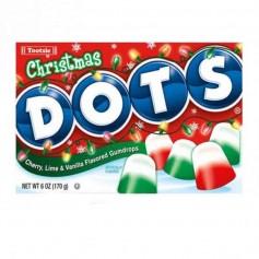 Tootsie roll christmas dots