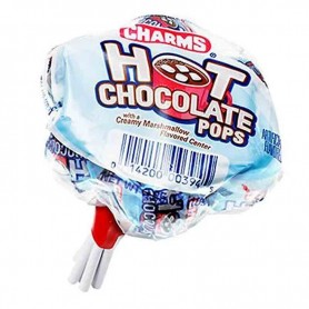 Charms hot chocolate pops