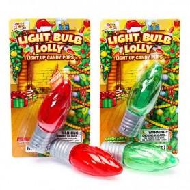 Albert light bulb lolly