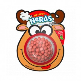 Big chewy nerds reindeer stocking