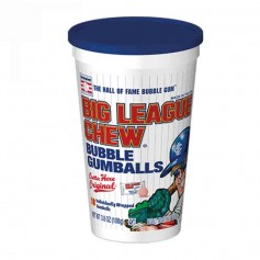 Big league chew gumballs stadium cup