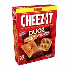 Cheez it duoz cheddar jack & charb cheddar