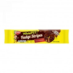Keebler whoopsy! fudge stripes fully covered