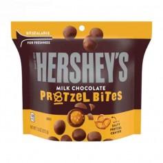 Hershey's milk chocolate pretzel bites
