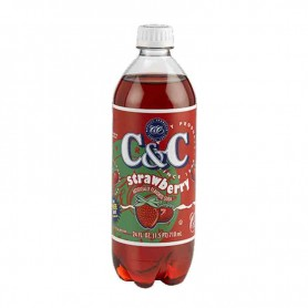 C&C soda strawberry