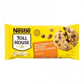 Nestle toll house milk choc and peanut butter chips