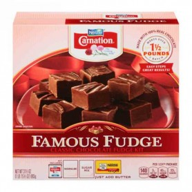 Nestle carnation famous fudge