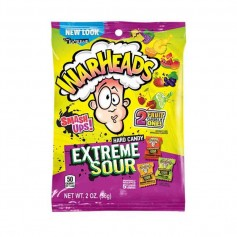 Warheads extreme sour hard candy smash up