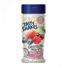 Tasty shakes oatmeal mix-ins berry berry cherry