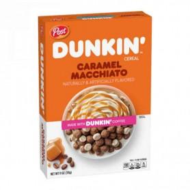 Post dunkin' cereal caramel macchiato