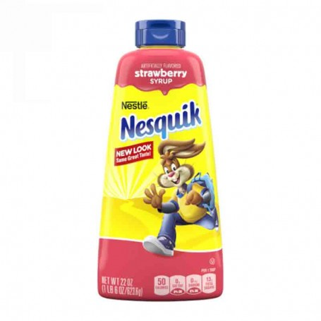 Nesquik syrup strawberry