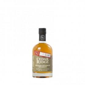 Whisky cedar ridge peated bourbon