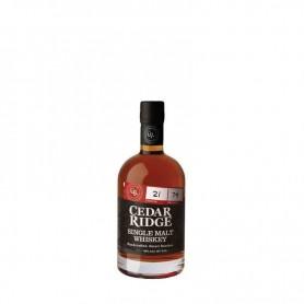 Whisky cedar ridge single malt
