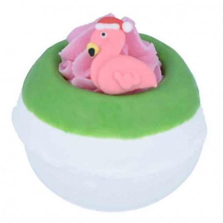 Boule de bain flamingo ho ho