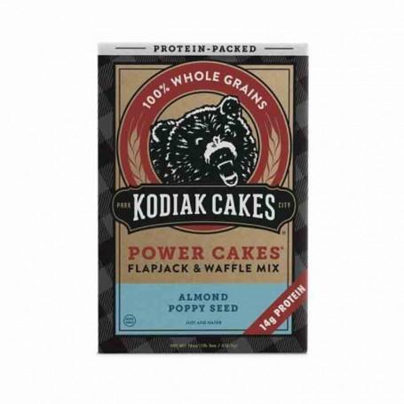 Kodiak pancake mix almond poppy seed