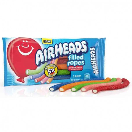 Airheads filled ropes