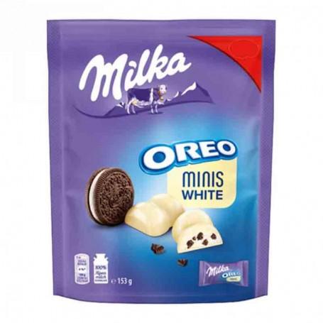 Milka oreo mini white