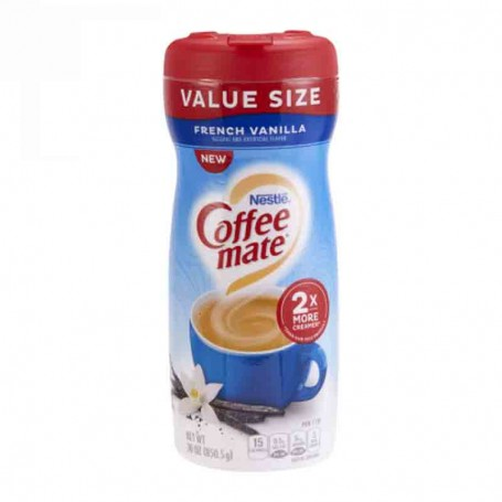 Coffee mate french vanilla value size