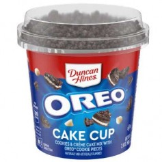 Duncan hines cake cup oreo