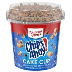 Duncan hines cake cup chips ahoy!