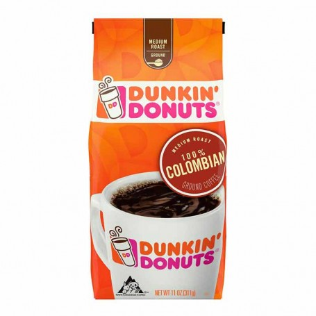Dunkin donuts café 100% colombian