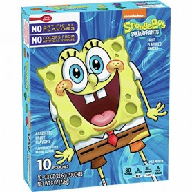 Spongebob squarepants fruit snacks