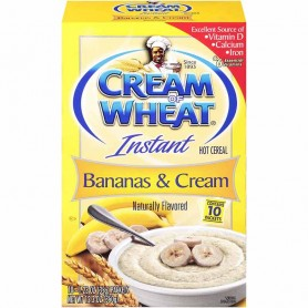 Cream of wheat instant banans and cream