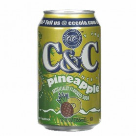 C&c pineapple (can)