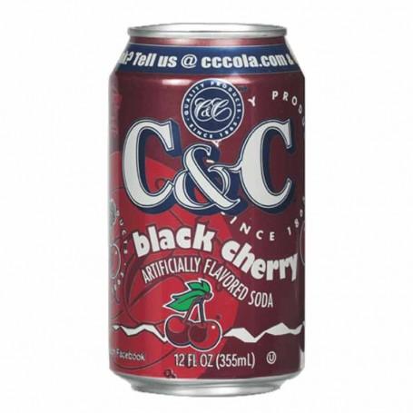 C&c black cherry (can)