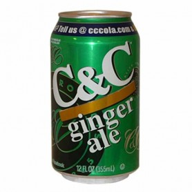 C&c ginger ale (can)