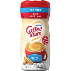 Coffee mate original fat free value size