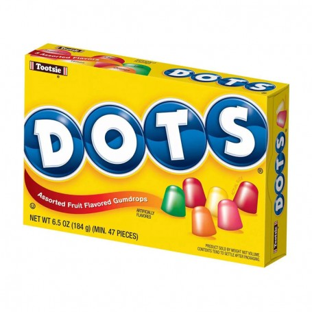 Tootsie dots assorted fruit