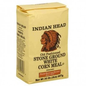 Indian white corn meal
