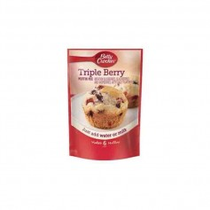 Betty crocker triple berry muffin mix