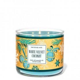 BBW bougie white velvet coconut