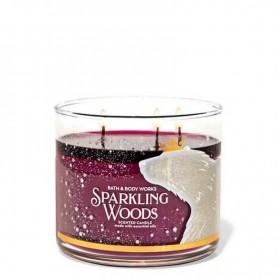 BBW bougie sparkling woods