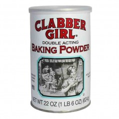 Clabber girl baking powder 624g