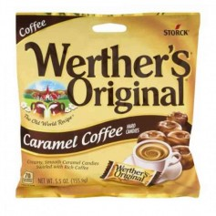 Werther's original sugar free caramel coffee