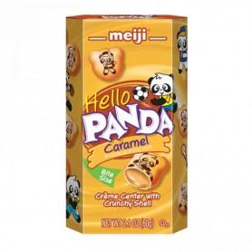 Meiji hello panda caramel