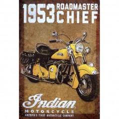 Magnet vintage roadmaster chief