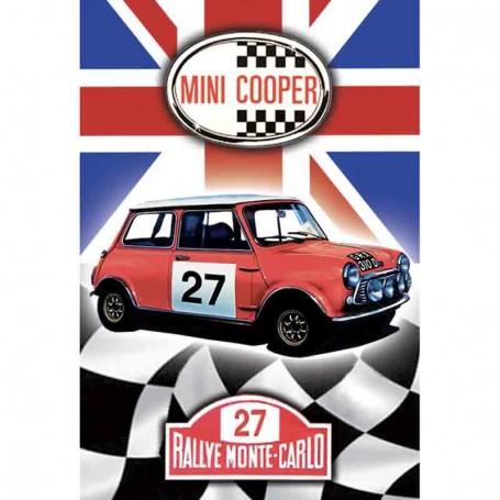 Magnet vintage mini cooper