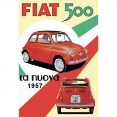 Magnet vintage fiat 500